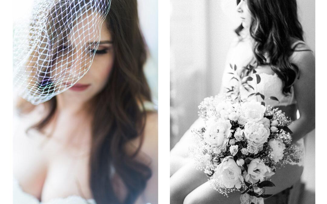 Romantisches Bridal Boudoir
