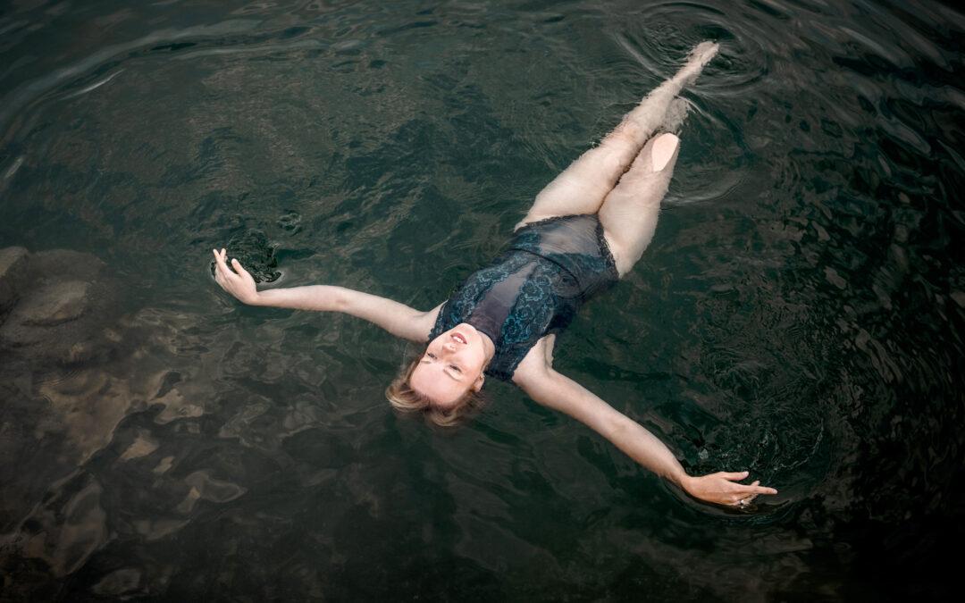 Boudoir im Wasser