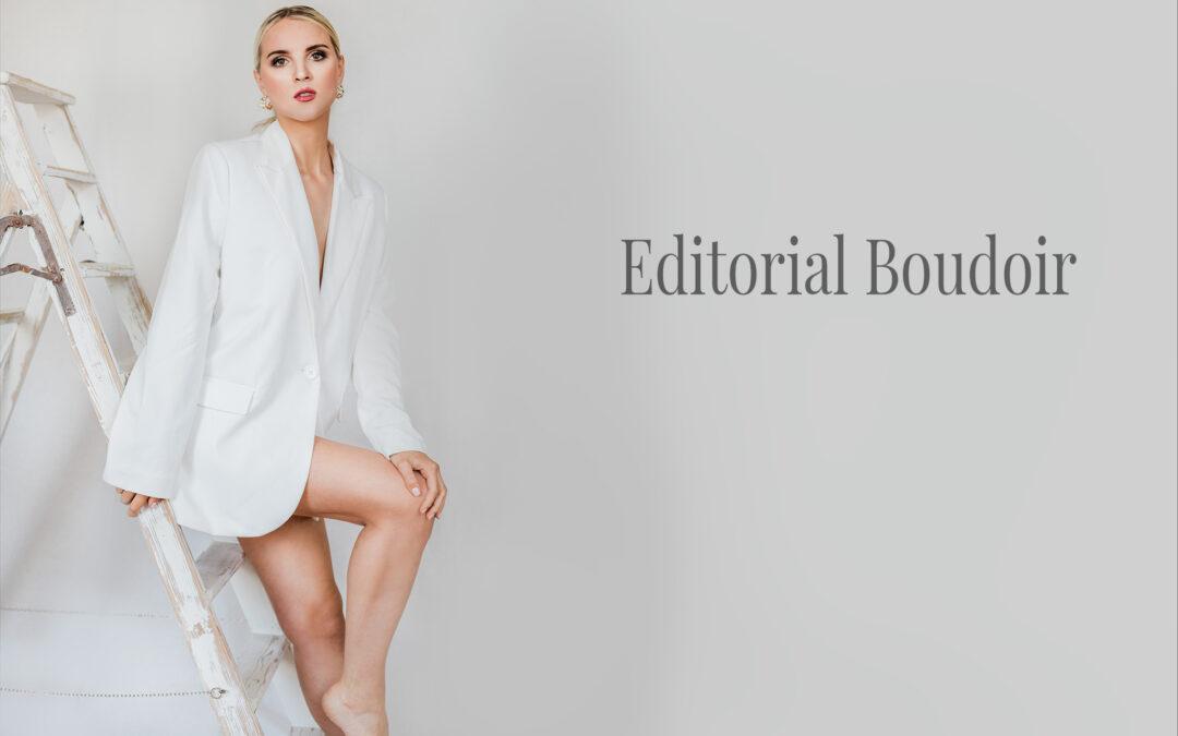 Elegantes Editorial Boudoir